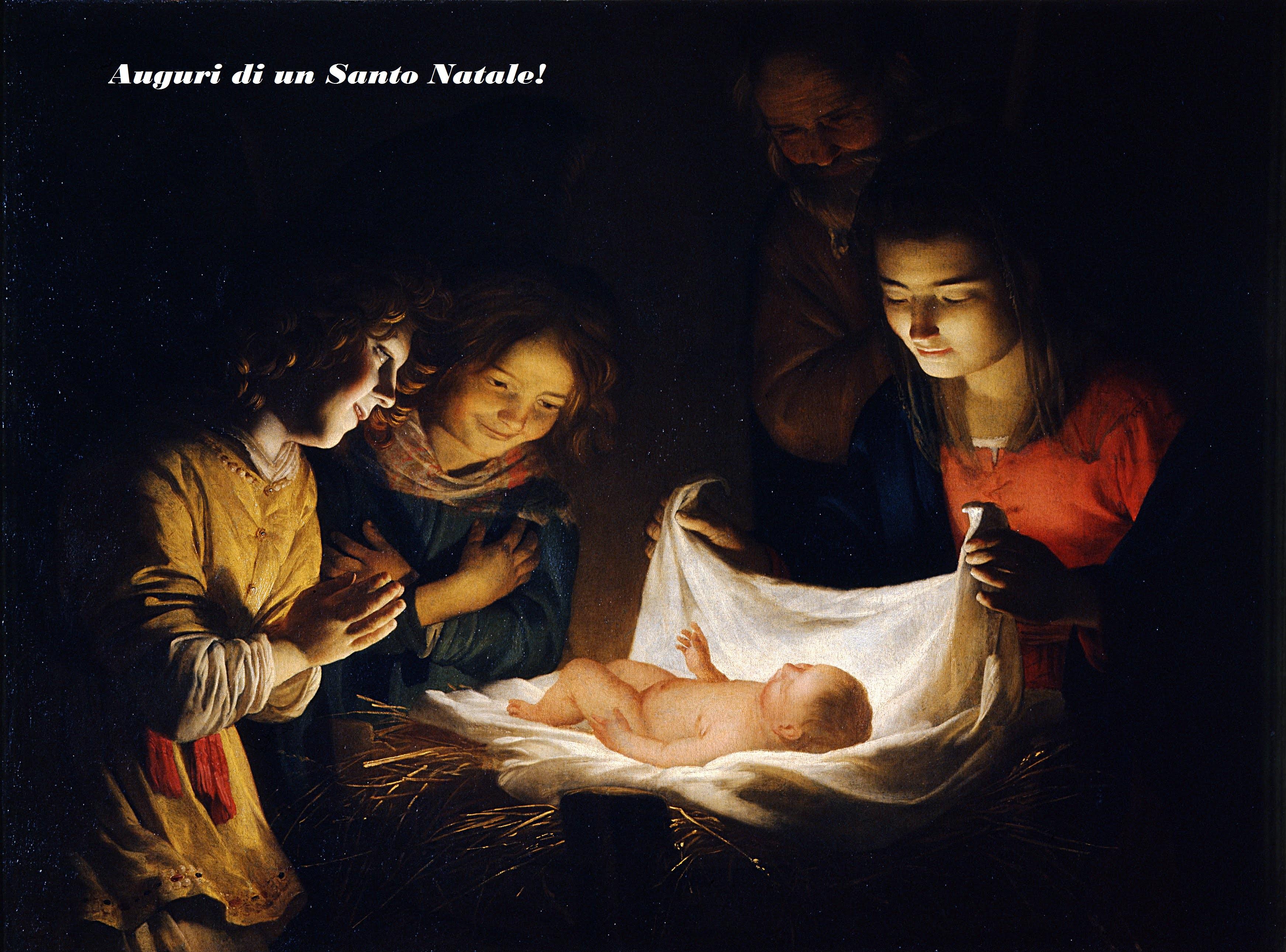 Immagini Santo Natale.Auguri Di Un Santo Natale